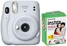 Fujifilm Instax Mini 11 ice white + Mini Film DP Sofortbildkameras & Instaxkam