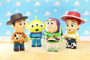 Herocross Disney CFS Toy Story Hoopy Woody Buzz Lightyear Jessie Lotso Zurg