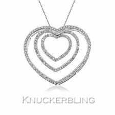 "9 Carat White Gold 16 - 17.99"" Fine Necklaces & Pendants"