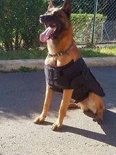 Tactical Molle Bulletproof Vest Harness Canine Black K9 Police Dog NIJ IIIA
