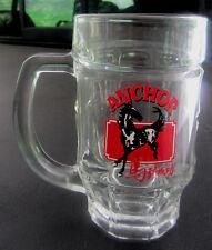 Anchor Beer 12oz Glass Mug w/ Mustang...   b