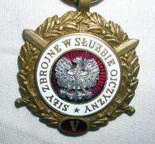 Polish SILY ZBROJNE W SLUZBIE OJCZYZNY Medal