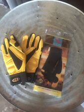 Seattle Inc Work gloves Anti Vibration Deerskin Gel Palm Sz Small NEW