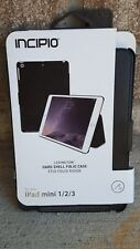 New Original INCIPIO Lexington Leather Gray Folio Case for Apple iPad mini 1 2 3