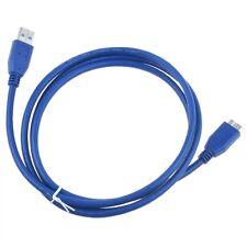 USB 3.0 Cable Cord Lead for LaCie Rugged Mobile Hard Drive 301382U 300703U