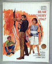 Bear Archery CATALOG - 1967 ~~ Fred Bear