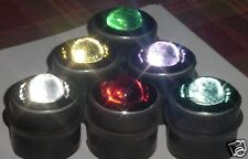 12 Rare RED Driveway Glass Light Reflectors -  GR8 Business Front Safe Road Sign