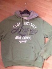Men's green logo hoodie size L, excellent condition