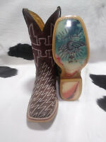 Tin Haul Boots Men's Tin Haul Cowboy Lightning Lucy Western Boot