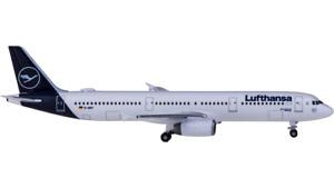 1:500 Herpa Lufthansa AIRBUS A321 Passenger Airplane Diecast Aircraft Model