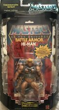 Mattel Commemorative Masters of The Universe He-Man Battle Armor Limited Edition
