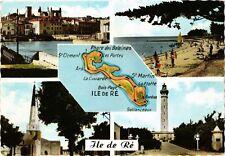 CPA   Ile de Ré -St-Martin de Ré -La Flotte -Ars de Ré -St-Clément ... (242243)