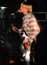 More details for nirvana poster page . kurt cobain . 244p