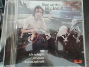 JACK BRUCE - THINGS WE LIKE (1970) - 2003 POLYDOR/UMG REMASTERED/EXPANDED CD