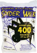 Super Stretch XXXL Very Large White Spider-Web 400ft Halloween Party Decoration