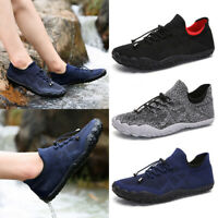 Men Barefoot Athletic Casual Sneakers Outdoor Running Breathable Sports Shoes