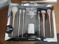 *LIMITED EDITION* bold metals real technique brushes and sponge set RRP £100