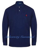 Ralph Lauren Men's Classic Fit Long Sleeve Polo Navy S - XXL RRP £85 SALE SALE