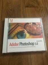 Adobe Photoshop 5.0 Macintosh et Windows limited edition