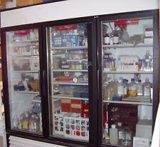 """77"""" 3- Glass Door Refrigerator"""