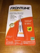 FRONTLINE GOLD FOR DOGS 5-22 LBS. 1 SINGLE DOSE -FREE APPLICATION