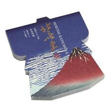 Japanese MEMO PAD 100 Paper KATSUSHIKA HOKUSAI Fine Wind Clear Morning JAPAN