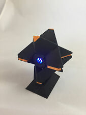 3D Printed Destiny Ghost Replica - Black & Orange