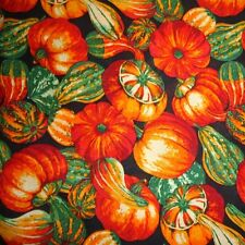 """1 yard  """"Large Gourds"""" Fall/Harvest Fabric"""
