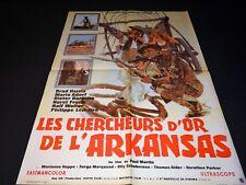 LES CHERCHEURS D' OR DE L' ARKANSAS  affiche cinema western 1964