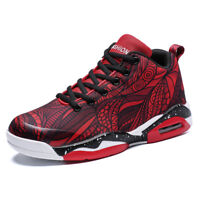 Mens Womens Shoes Couples Fashion Air-Cushion Sneakers Plus Size Rubber Sole