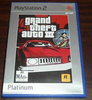 PS2. Grand Theft Auto III (PAL EUR/AUS). Sony Playstation 2