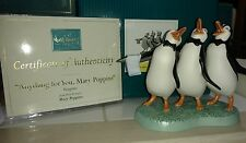 """WDCC MARY POPPINS """"ANYTHING FOR YOU, MARY POPPINS"""" PENGUINS REDUCED"""