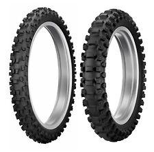 New Dunlop 80/100-21 & 100/100-18 MX33 Geomax Off-Road, MX, Trail Tire Set
