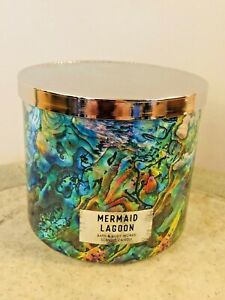 Bath & Body Works MERMAID LAGOON Candle Wick Candle Scented NEW Free Ship