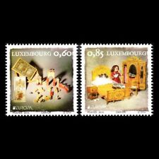 """""""OLD TOYS"""" - EUROPA 2015 CEPT LUXEMBOURG LOVELY STAMPS MNH"""