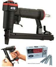 PNEUMATIC STAPLER 20 Gauge Upholstery Framer Air Fine Tool Arrow T50 Staple Gun