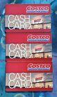 3 Costco Cash Gift Card Zero Balance $0 Empty Warehouse Access FREE SHIP For Sale
