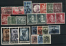 Germany. Deutsches Reich. Selection of MNH, MH or FU (*) stamps. Better once. 11