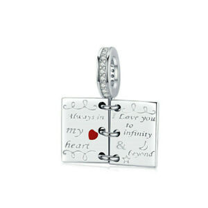 Diy New Fashion Silver Cz European Charm Beads Fit Pendant Necklace Bracelet U6