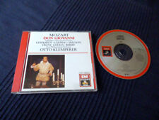 CD MOZART Otto Klemperer Don Giovanni Highlights Best Of EMI Ludwig Freni Gedda