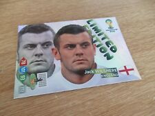 Panini Adrenalyn XL World Cup 2014 Jack Wilshere Portrait Limited Edition