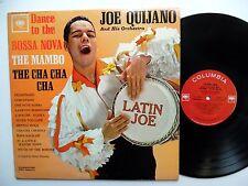 JOE QUIJANO Dance to the Bossa Nova / Latin Joe LP Latin MONO