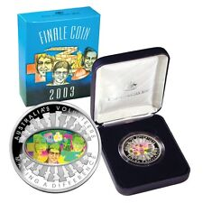 2003 FINALE COIN silver ROYAL AUSTRALIAN MINT