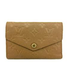 Louis Vuitton Monogram Empreinte Curieuse Compact Trifold Wallet /91045