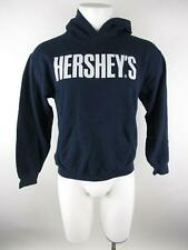 Gildan Men's sz S Blue Cotton Polyester Hershey's Chocolate Hoodie Sweatshirt