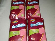 Goodnites Shorts Culottes 4 packages New