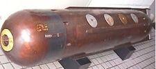 MK-27 Cutie US Anti-Ship Homing Torpedo Mahogany Kiln Wood Model Small New