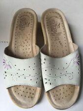 Fly Flot Mid Heel (1.5-3 in.) Women's Slip On, Mules Shoes