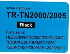 TN2000 / TN2005 TONER COMPATIBILE PER BROTHER HL-2035, HL-2037, HL-2070N, MFC-7220,
