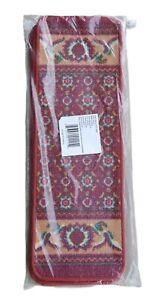 """Carpet Stair Treads Set Of 4 Non Slip Skid Runner Mats Rug Tread """"Free Shipping"""""""